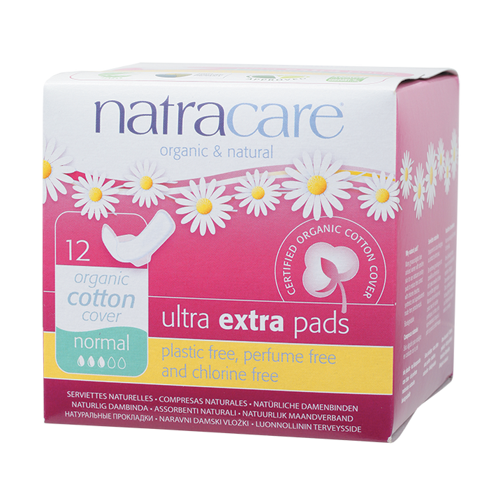 NATRACARE Ultra Extra Wings Norm 12 pads