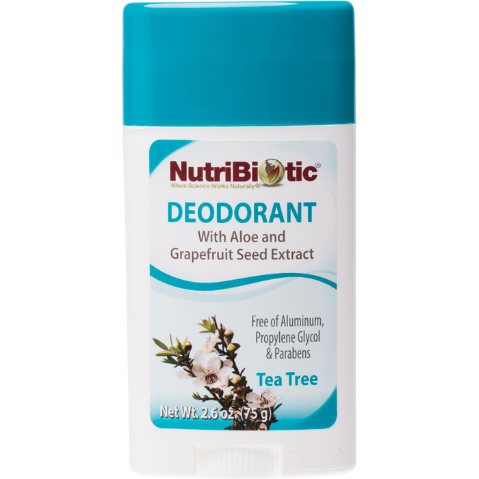 NUTRIBIOTIC Deodorant Tea Tree 75g