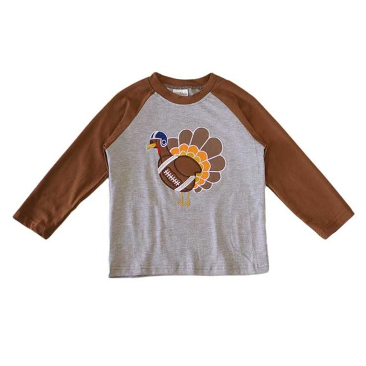 Turkey Football Raglan Shirt