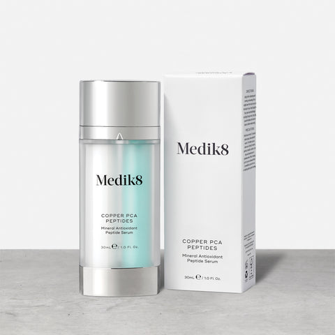 Copper PCA Peptides™ by Medik8. A Mineral Antioxidant Peptide Serum