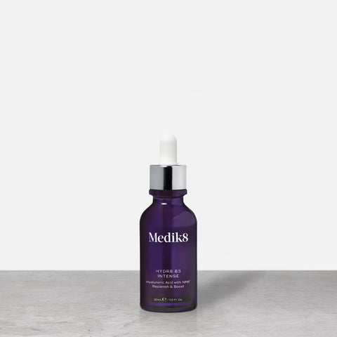 Hydr8 B5™ Intense by Medik8. A Hyaluronic Acid with NMF Replenish & Boost