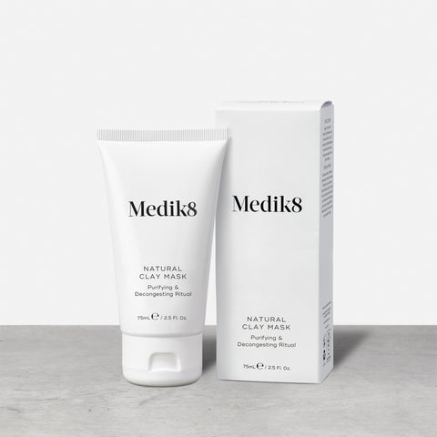 Natural Clay Mask™ by Medik8. A Purifying & Decongesting Ritual.