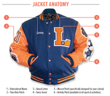 Load image into Gallery viewer, Letter Jacket
