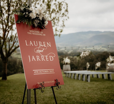 1CC.  Lauren & Jarred - Welcome Board