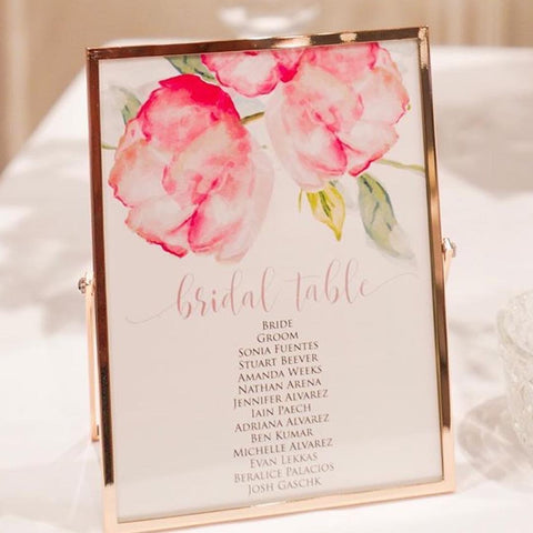 Floral Charm - Table Numbers