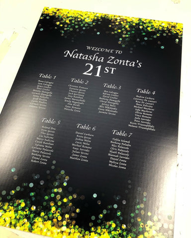 2F.  Natasha's Birthday Seating Chart