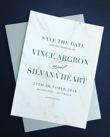 Save the Date - Silvana & Vince