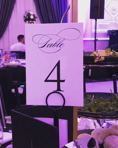 Table Number 4
