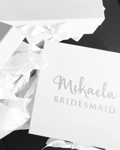 Mikaela be my Bridesmaid