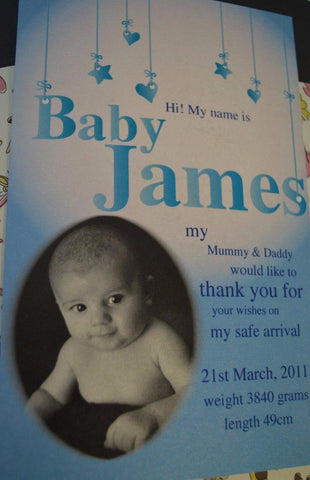 Baby Jame's Arrival