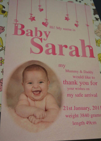 Baby Sarah's Arrival
