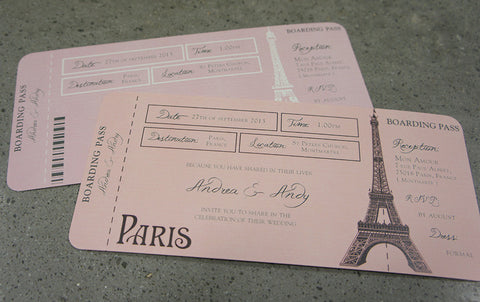 Boarding Pass to Paris