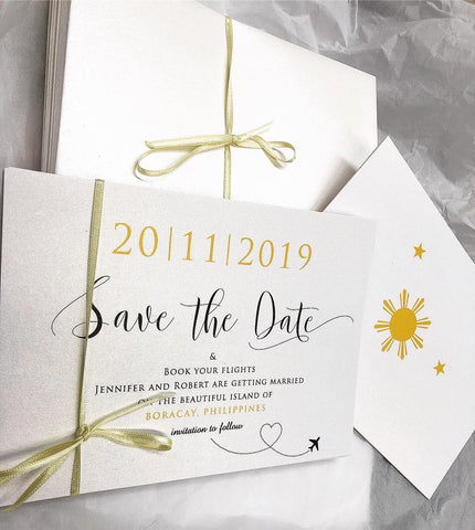 Jennifer & Robert - Save the Date