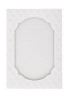 C6 Window Card, Ivory