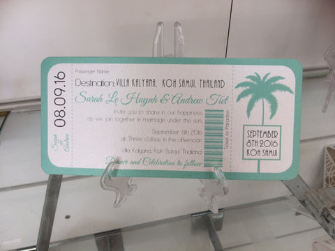 Ticket to Koh Samui
