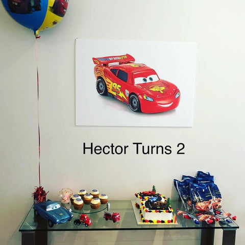Cars Backdrop Theme