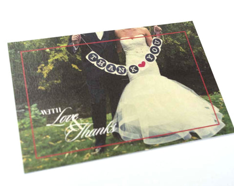 Newly Weds Thank You Card