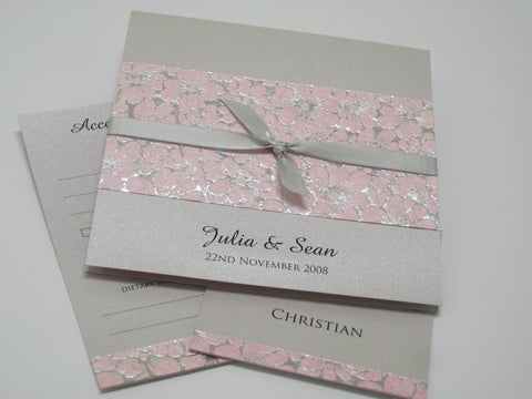 Daisy Foil in Pink