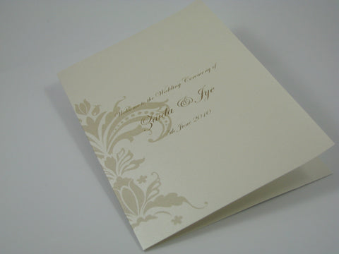 Damask - Hymn Booklet