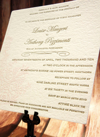 Floral Elegance - Wedding Invitation
