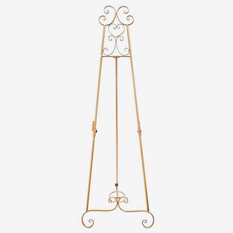 Gold Easel Stand - Hire