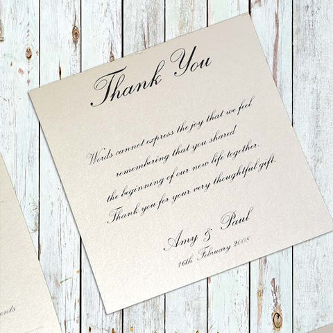 Guarding Angel - Thank You Card