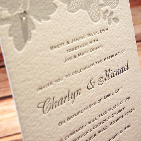 Honey Dew - Wedding Invitation