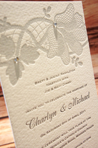 1k.  Honey Dew - Wedding Invitation