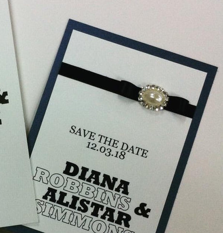 Save the Date - Diana & Alistar