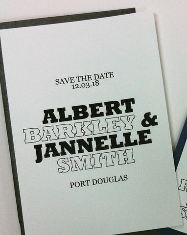 Save the Date - Albert & Janelle