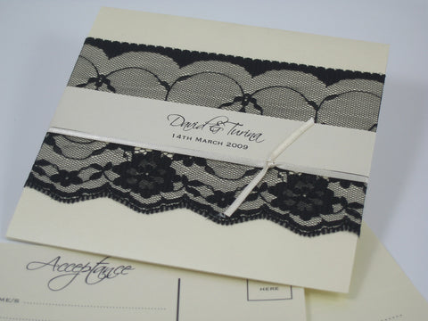 Masquerade - Wedding Invitation
