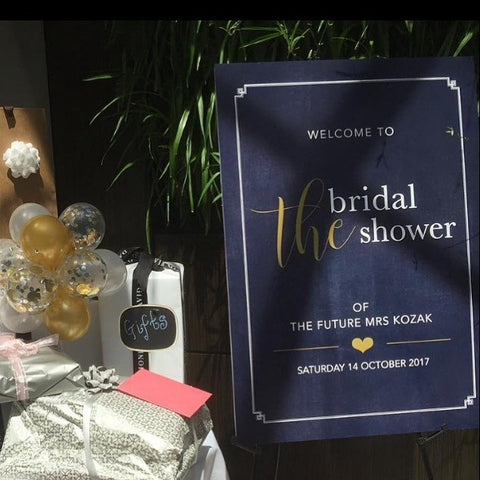 Welcome to Bridal Shower of Mrs K