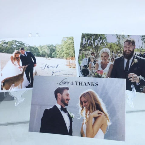 Photographic Thank You Cards