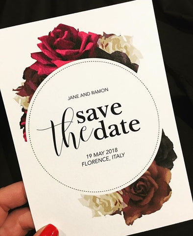 1A  Save the Date to Florence