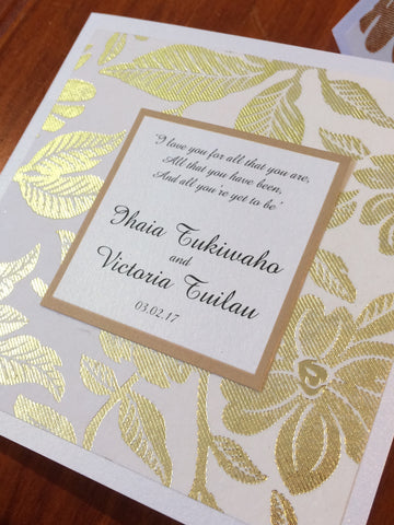 1R - Victoria Wedding Invitation