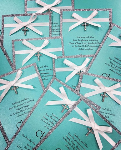 A beautiful Christening Invitation