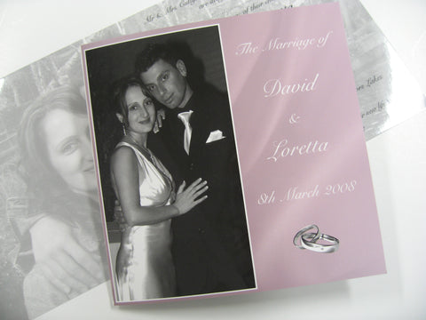 Photographic Wedding Invitations