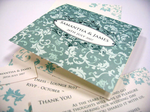 Love Crest - Wedding Invitation