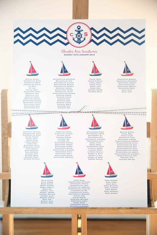 Guest Board - Nautical Theme