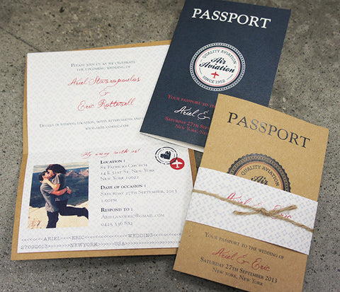 Passport to Our Wedding