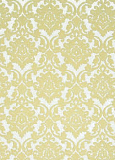 Damask cream flock / white pearl 150gsm A4 Paper