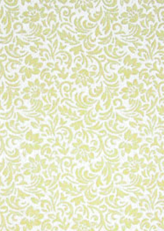Flourish cream flock / white pearl 150gsm A4 Paper