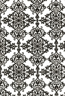 Flocked Ornate White 120gsm A4 Paper