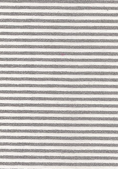 Lines Silver Glitters On White 70gsm A4 Paper