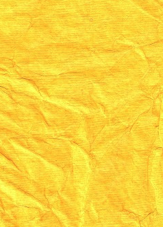 Crinkled Yellow 120gsm A4 Paper