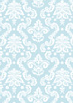 Damask Blue 120gsm A4  Paper