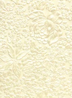 Flower Ivory Pearl 150gsm A4 Paper