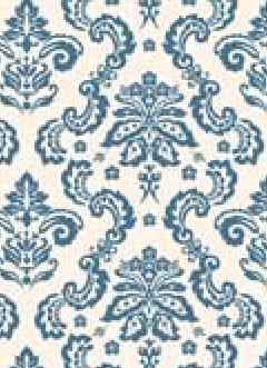 Damask Navy Blue 120gsm A4  Paper