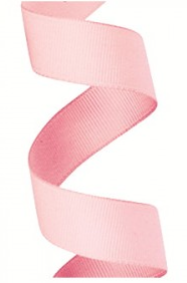 Gros Grain Light Pink Ribbon