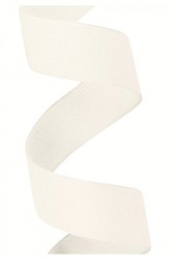 Gros Grain Bridal White Ribbon